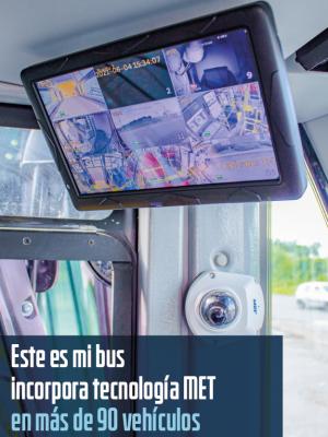 Este Es Mi Bus renueva 97 buses con tecnología MET GROUP
